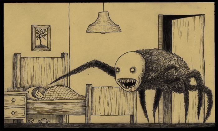 the monster under your bed u2026 john kenn mortensen u2019s sticky