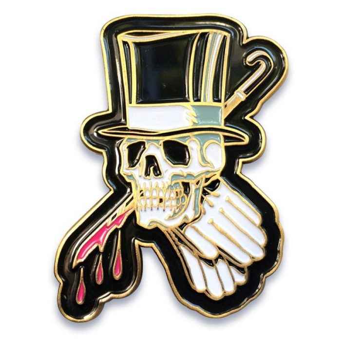 Top Hat Pin - Feral Social - $20