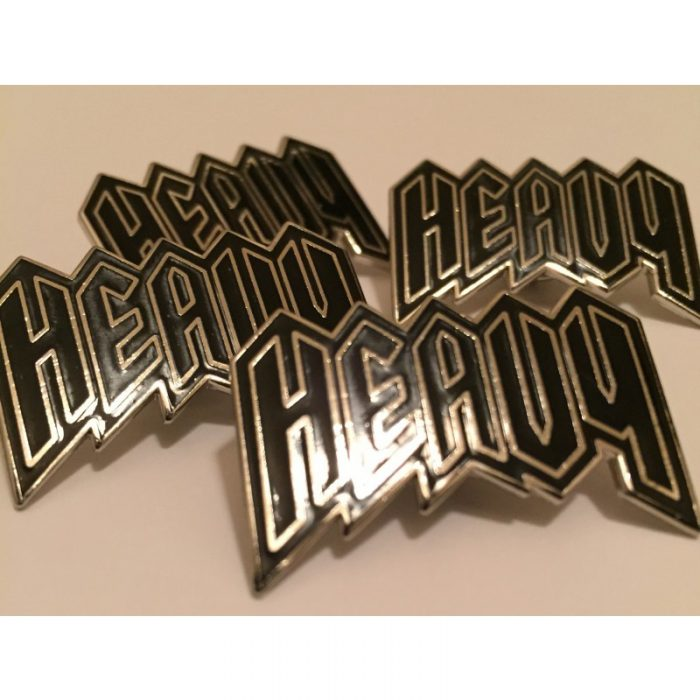 Heavy Pin - Heavy Clothing - $5