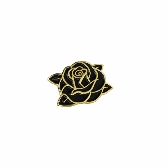 Classic Swarm Rose Pin - Longlive the Swarm - $10