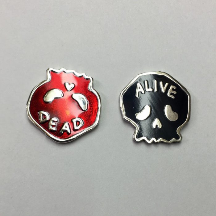 Dead/Alive Pin Set - HFFS - $17.50