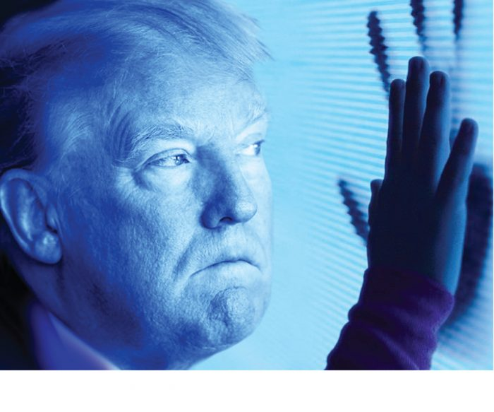 donald trump in iconic horror movies