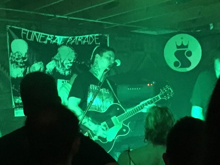 Soft Kill at Funeral Parade in Austin on July 9, 2016.