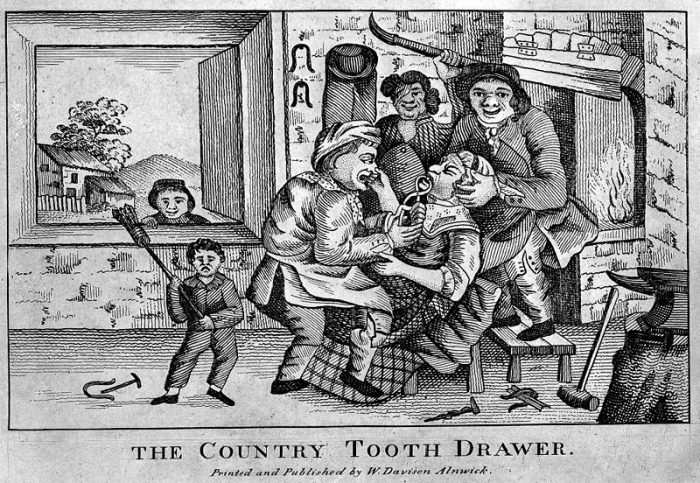 """The Country Tooth Drawer"", Courtesy of Wellcome Images"