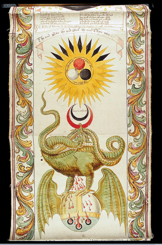 weird and wonderful alchemical illustrations from the 15th