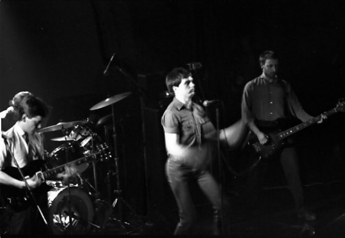 Another Joy Division photo from early 1980, by Frank Jenkinson.