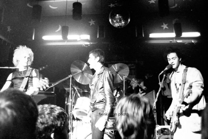 Killing Joke live in December, 1979, by Frank Jenkinson.