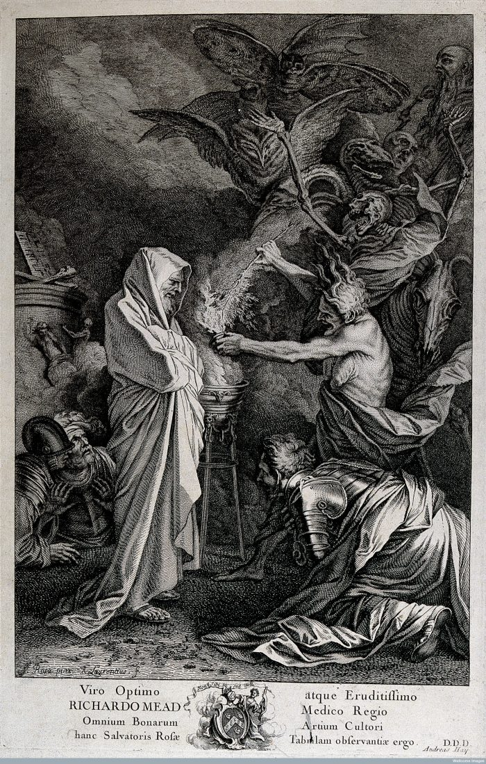 engravings and illustrations of witches over the centuries