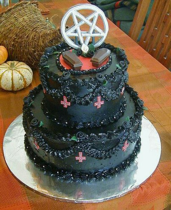 Pentagram Birthday Cake
