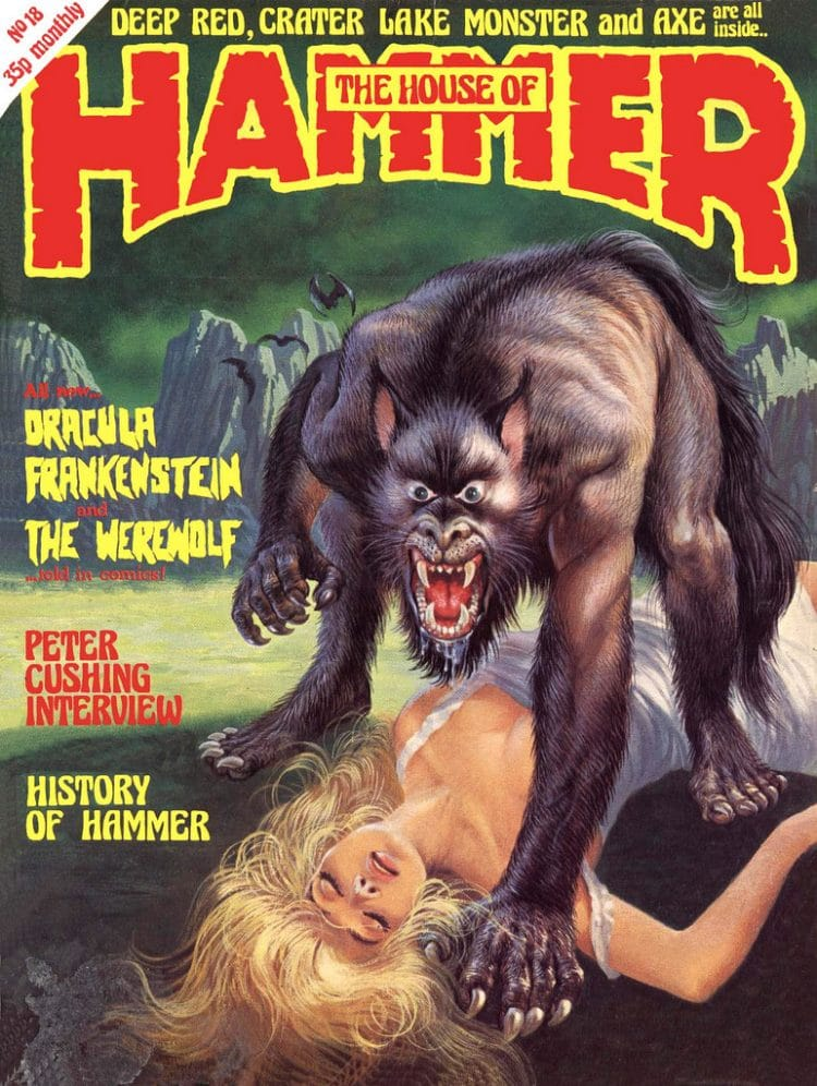 the unbelievable horror art of the house of hammer magazine