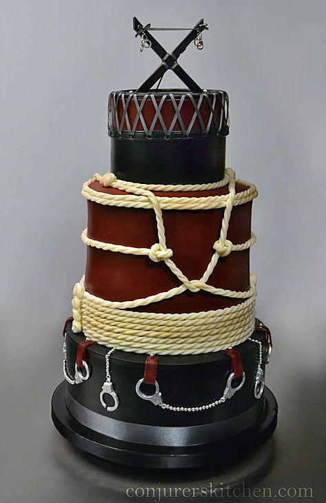 Order Your Christian Made Satanic Wedding Cake Today
