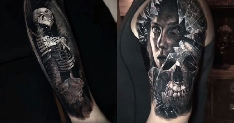 The Horrific 3=D Black and Grey Tattoos of Eliot Kohek ... 10 Realistic 3d Tattoos