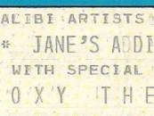 Pigs in Zen… <br/>Jane's Addiction Rare 1987<br/>Full Set Now Showing!