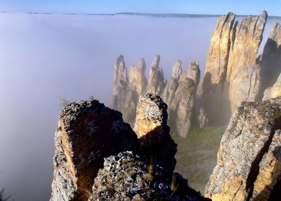Lena-Pillars-Russia-Yakutsk-from-above