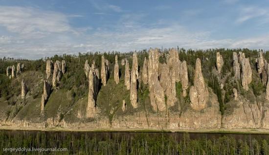Lena-Pillars-Russia-Yakutsk-towers