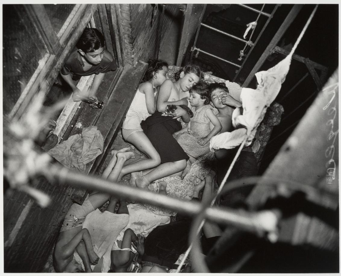 Naked over new york 1938