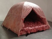 A Weapon Of Protest!…<br/>BLOODY MEAT TENT