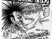 Reason For Existence?…<BR>SUBHUMANS 1984 GIG