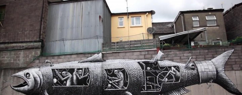 Enter The Weird World Of…. PHLEGM: A Street Art… <br/>Story Teller…<br/>