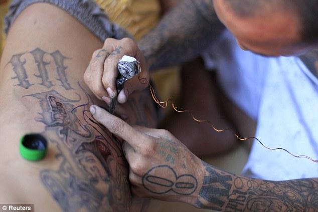 Ms 13 Hand Tattoos