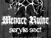 ASH BORER // MENACE RUINE <BR/>WEST COAST TOUR MMXII<br/>