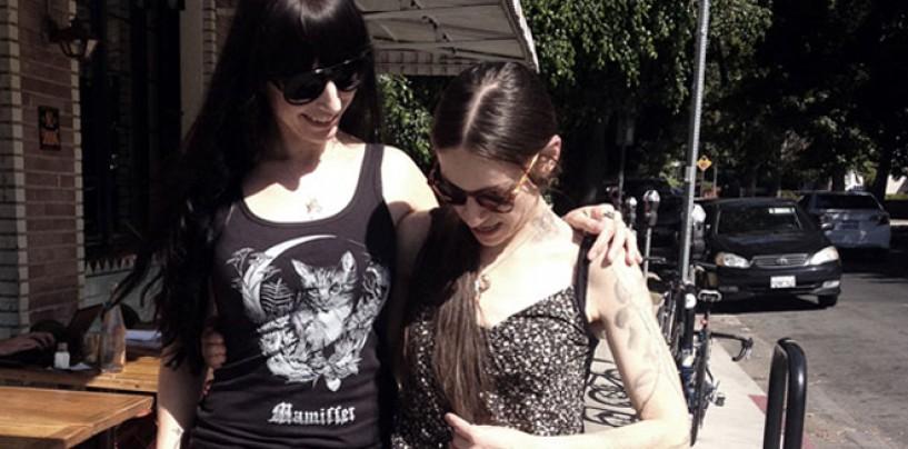 DOUBLE   MIRRORS #1 <br/>CVLT Nation Francesca Marongiu Interviews <br/>Faith Coloccia Vs. Sera Timms