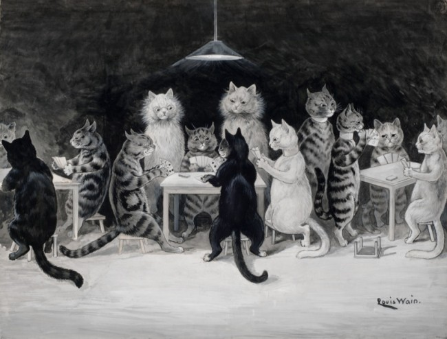 Louis-Wain-Cats-Bridge