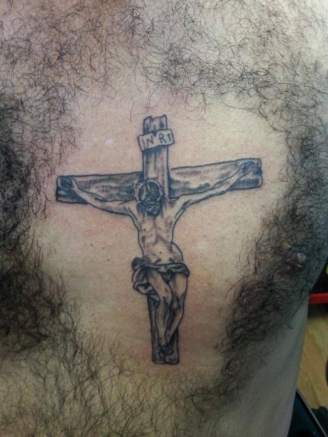 Jesus-Tattoo