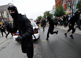 A history of the Black Bloc <br/>Now Showing!