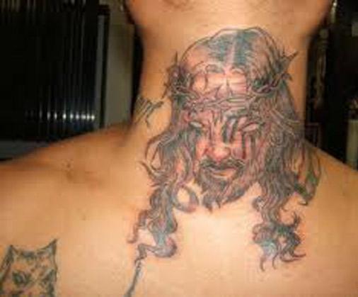 Weird-Bad-Jesus-Tattoo-Evil-Jesus