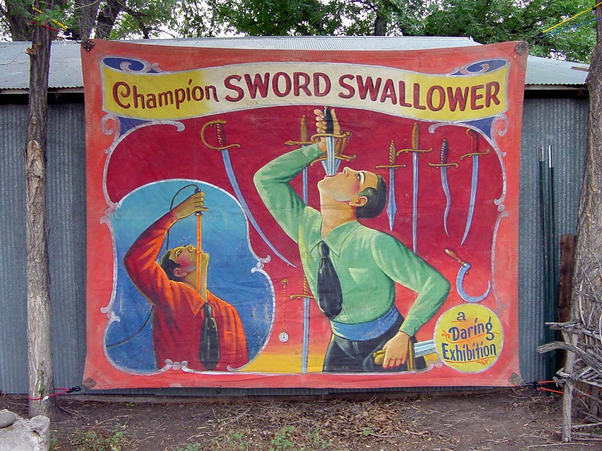 Vintage Sideshow Banners
