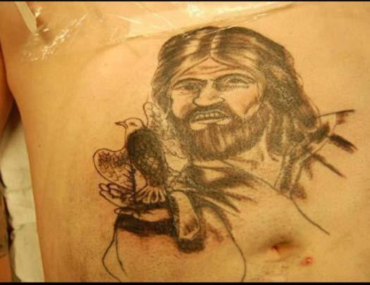 bad-jesus-dove-tattoo