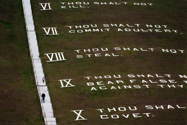 World's largest ten commandments, South Carolina