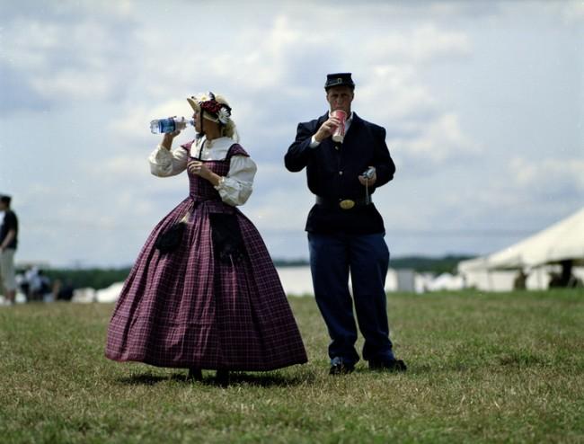 Civil war re-enactors, Virginia