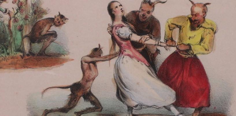 Les Diables de Lithographies! <br/>The Devil Made Le Poitevin Do It