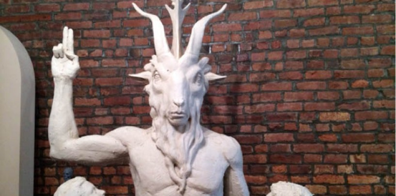 Oklahoma's Statehouse <br/>New Satanic Monument
