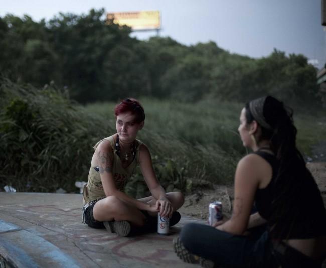 Punk Girls, FDR, Philadelphia, U.S.A.