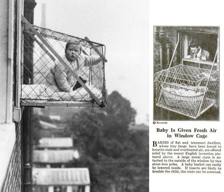 The Baby Cage Circa 1922 Wtf