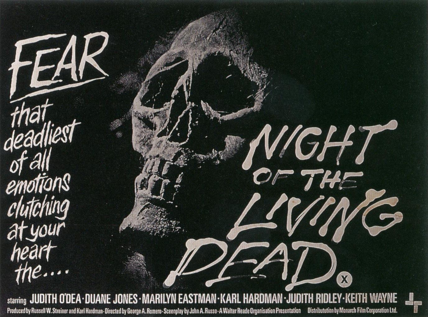 death by fright vintage horror movie posters