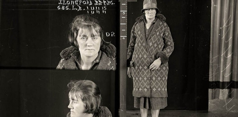 Vintage Faces Of Crime! <br/>Women's Mugshots from the 1920s