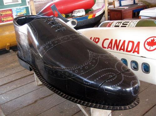Ghanaian shoe coffin