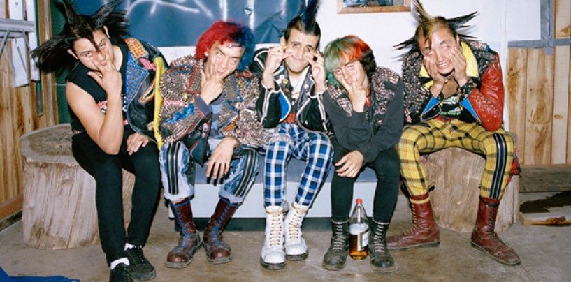 Portraits Of East L.A Punx by <br/>ANGELA BOATWRIGHT