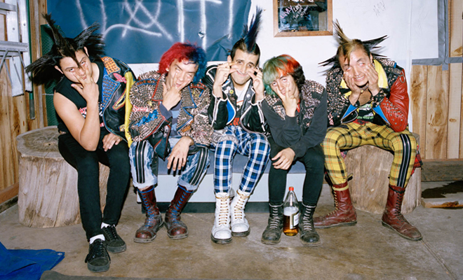 Portraits Of East L A Punx By Angela Boatwright