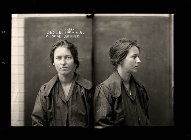 Alice Adeline Cook Alice Adeline Cooke (pictured above) was convicted of bigamy and theft. By the age of 24 she had amassed an impressive number of aliases and at least two husbands. She was described by police as 'rather good looking'.