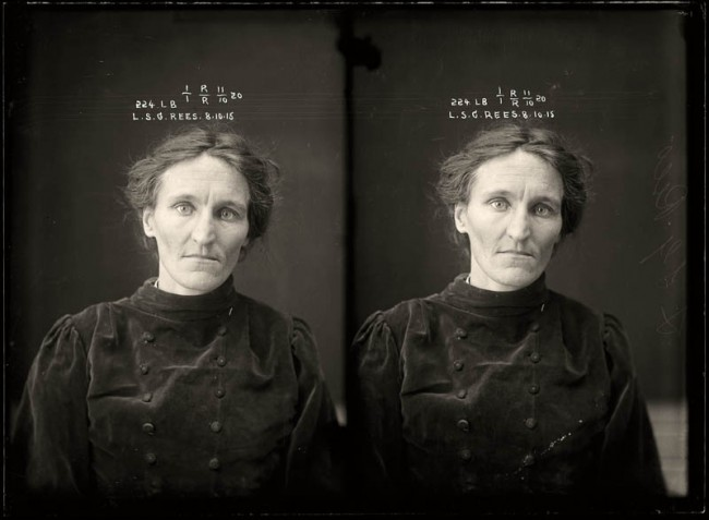 Leslie Selina Gertrude Rees, 8 October 1915 Leslie Rees was convicted of bigamy at the Moree Quarter Sessions and was sentenced to four months light labour. Women from regional centres were transferred to Sydney to serve their time. Age unknown.