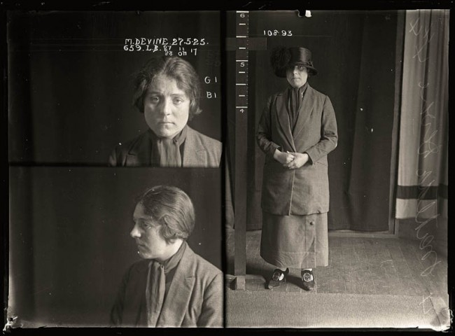 Matilda Devine, 27 May 1925 Matilda 'Tilly' Devine used a razor to slash a man's face in a barber's shop and was sentenced to two years gaol. She was Sydney's best-known brothel madam and her public quarrels with sly-grog queen Kate Leigh provided the media with an abundance of material. Aged 25.