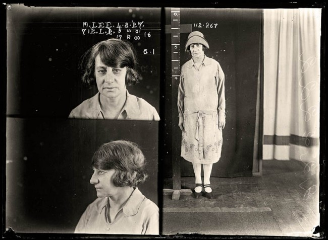 Myrtle Lee, 4 August 1927 Myrtle Lee, described in the media as 'a well-dressed woman', stabbed Mary Moon twice at the residence of a Chinese man in Alexandria. The press emphasised the racial nature of the attack with a headline 'White and Yellow'. Lee was sentenced to six months gaol. Aged 35.