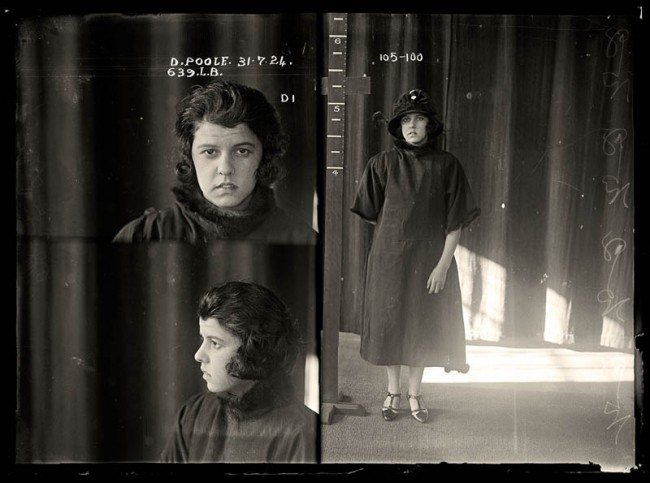 Doris Winifred Poole, 31 July 1924 Doris Poole appeared before the Newtown Police Court charged with stealing jewellery and clothing. She had previously been convicted on a similar charge in North Sydney and so received a six-month sentence with light labour. DOB: 6 June 1903.