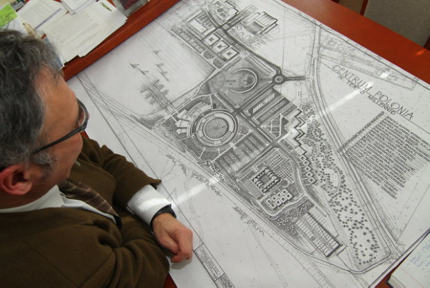 Plans of Rydzyk's resort and spa.