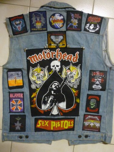 Denim Stud Leather Battle Jackets Galore